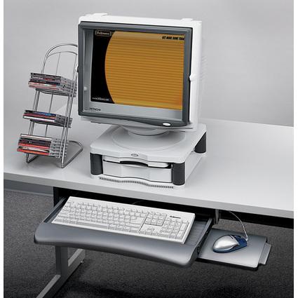 Fellowes Tastaturschublade mit Mausablage, graphit