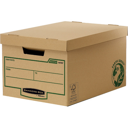 Fellowes BANKERS BOX EARTH Große Archiv-/Transportbox