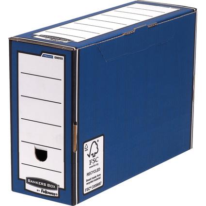 Fellowes BANKERS BOX PREMIUM Archiv-Schachtel, blau