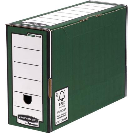 Fellowes BANKERS BOX PREMIUM Archiv-Schachtel, grün