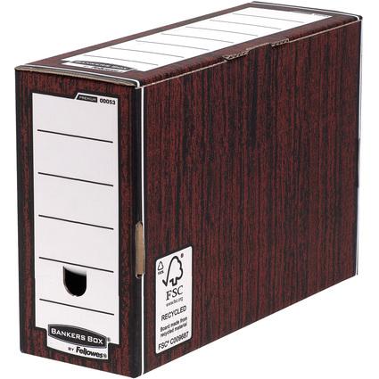 Fellowes BANKERS BOX PREMIUM Archiv-Schachtel, braun