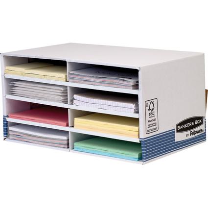 Fellowes BANKERS BOX SYSTEM Schreibtisch-Manager, blau