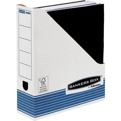 Fellowes BANKERS BOX SYSTEM Archiv-Stehsammler, blau