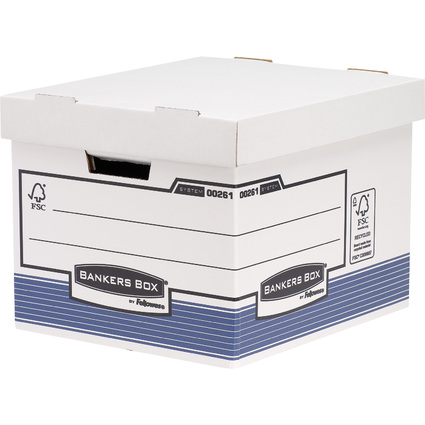 Fellowes BANKERS BOX SYSTEM Archiv-/Transportbox Standard