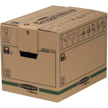 Fellowes BANKERS BOX TRANSIT Umzugskarton SmoothMove, klein
