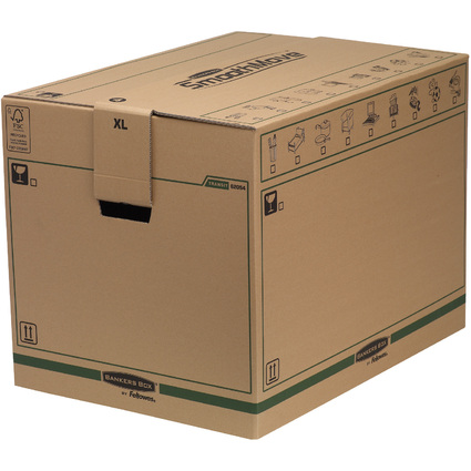 Fellowes BANKERS BOX TRANSIT Umzugskarton SmoothMove