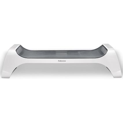 Fellowes Monitorständer I-Spire, weiß/grau