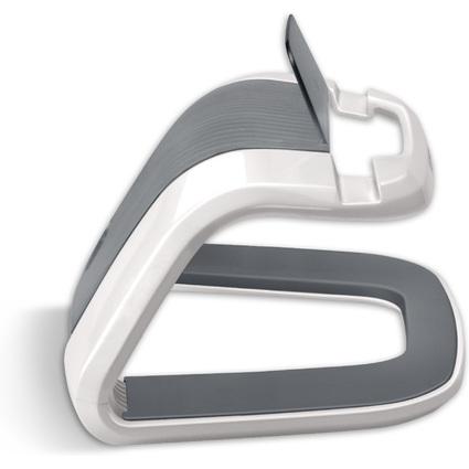Fellowes Tablet-PC-Ständer I-Spire, weiß/grau