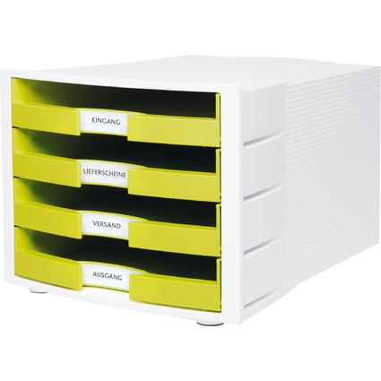 HAN Schubladenbox IMPULS Trend Colour, 4 offene Schübe