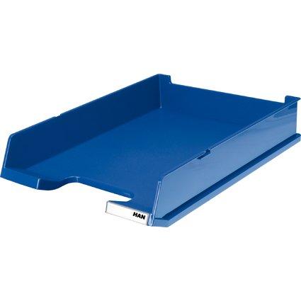 HAN Briefablage DELUXE, DIN A4, Polystyrol, blau