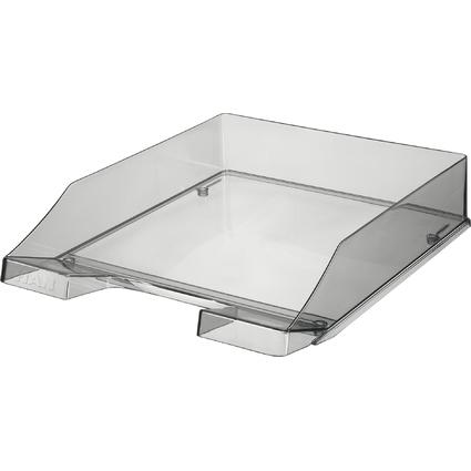 HAN Briefablage KLASSIK, A4, Polystyrol, grau-transparent