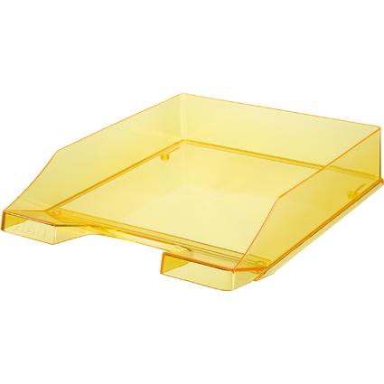 HAN Briefablage KLASSIK, A4, Polystyrol, gelb-transparent
