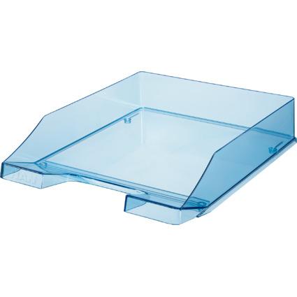 HAN Briefablage KLASSIK, A4, Polystyrol, blau-transparent