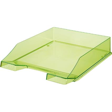 HAN Briefablage KLASSIK, A4, Polystyrol, grün-transparent
