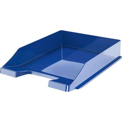 HAN Briefablage ELEGANCE, DIN A4, Polystyrol, blau