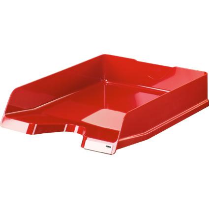 HAN Briefablage VIVA, DIN A4, Polystyrol, rot