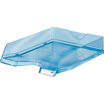 HAN Briefablage VIVA, DIN A4, Polystyrol, blau-transparent