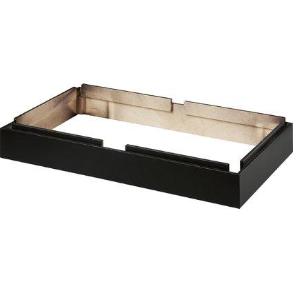HAN Sockel für 2 Schubladenboxen CONTUR, schwarz