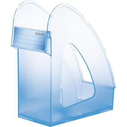 HAN Stehsammler GALAXY, Kunststoff, blau-transluzent