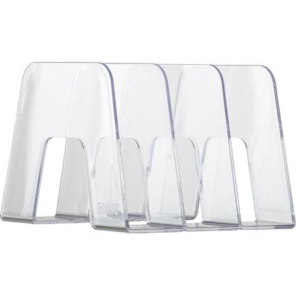 HAN Stehsammler SORTER, Kunststoff, glasklar-transparent
