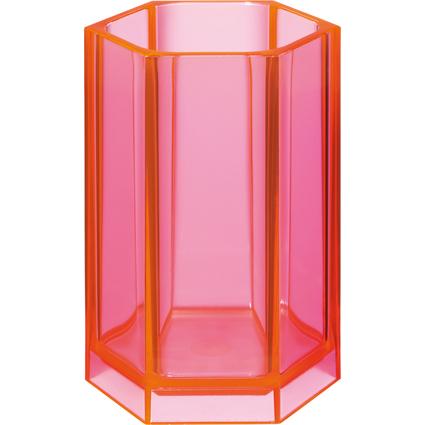 HAN Stifteköcher KLASSIK, Kunststoff, pink-signal