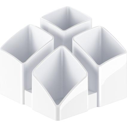 HAN Multiköcher SCALA, 4 Fächer, weiß