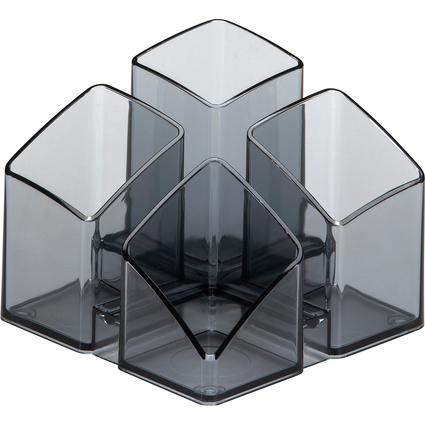 HAN Multiköcher SCALA, 4 Fächer, grau-transparent
