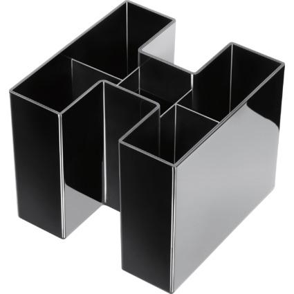 HAN Multiköcher BRAVO, 5 Fächer, schwarz