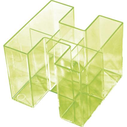 HAN Multiköcher BRAVO, 5 Fächer, grün-transparent
