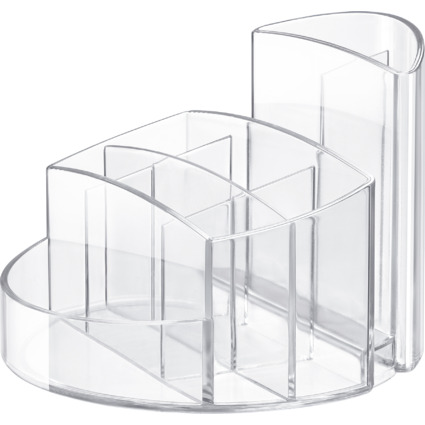 HAN Multiköcher RONDO, 9 Fächer, glasklar/transparent