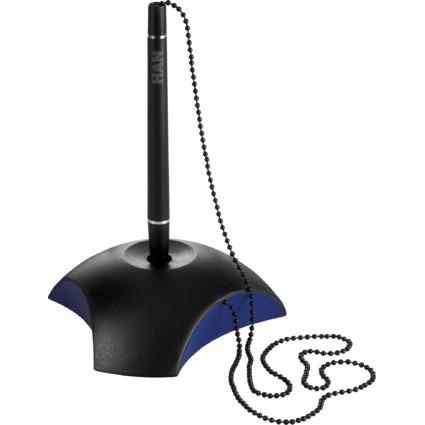 HAN Kugelschreiber-Ständer DELTA, Kunststoff, schwarz/blau