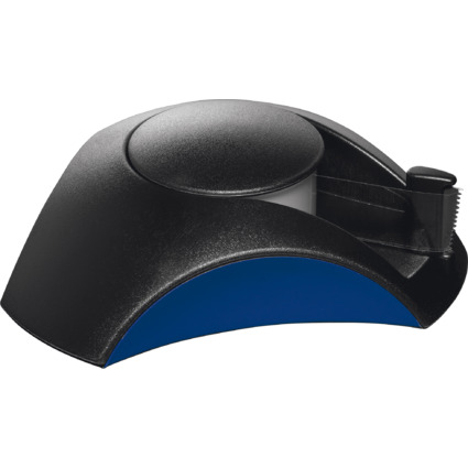 HAN Tischabroller DELTA, Kunststoff, schwarz/blau