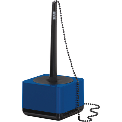 HAN Kugelschreiber-Ständer i-Line, Kunststoff, blau/schwarz