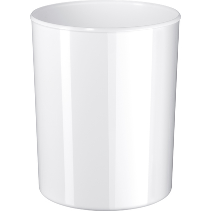 HAN Papierkorb i-Line, 13 Liter, Kunststoff, rund, weiß