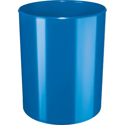 HAN Papierkorb i-Line NEW COLOURS, 13 Liter, rund, blau