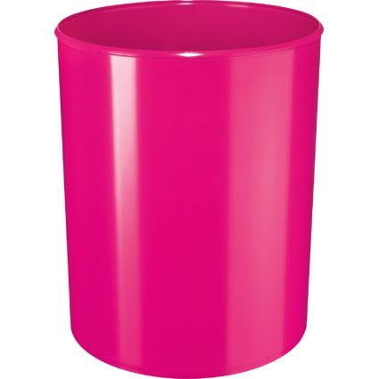 HAN Papierkorb i-Line NEW COLOURS, 13 Liter, rund, pink