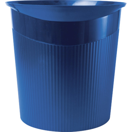HAN Papierkorb LOOP, 13 Liter, rund, blau