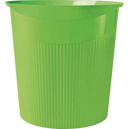 HAN Papierkorb LOOP, 13 Liter, rund, grün, i-Colour-Farben