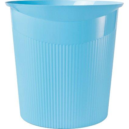 HAN Papierkorb LOOP, 13 Liter, rund, blau, i-Colour-Farben