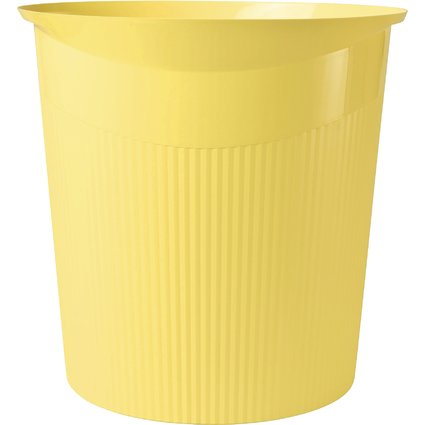 HAN Papierkorb LOOP, 13 Liter, rund, gelb, i-Colour-Farben