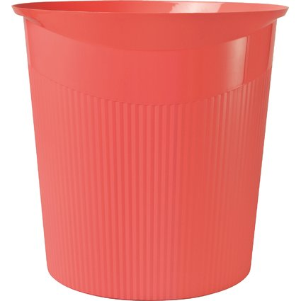 HAN Papierkorb LOOP, 13 Liter, rund, rot, i-Colour-Farben