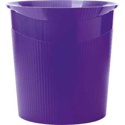 HAN Papierkorb LOOP Trend Colour, 13 Liter, rund, lila