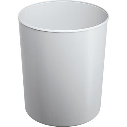 HAN Papierkorb, flammhemmend, 13 Liter, lichtgrau