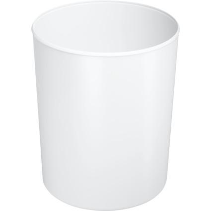 HAN Papierkorb, flammhemmend, 13 Liter, weiß