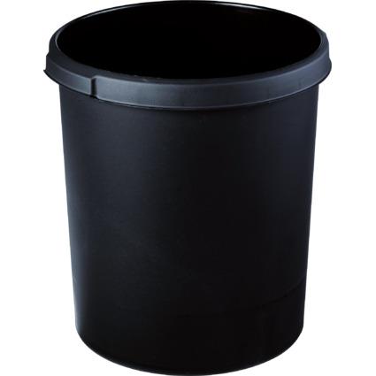 HAN Papierkorb STANDARD, 30 Liter, rund, schwarz