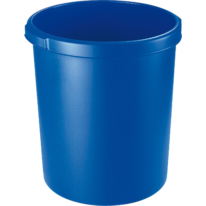 HAN Papierkorb STANDARD, 30 Liter, rund, blau