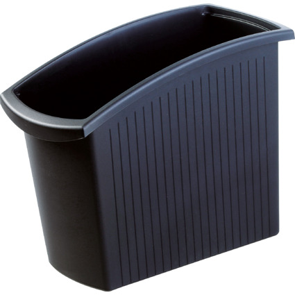 HAN Papierkorb MONDO, 18 Liter, eckig, schwarz