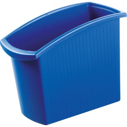 HAN Papierkorb MONDO, 18 Liter, eckig, blau