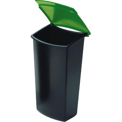 HAN Abfall-Einsatz für Papierkorb 1840, schwarz/grün
