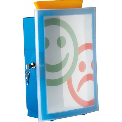 HAN Briefkasten IMAGE'IN, blau-transluzent